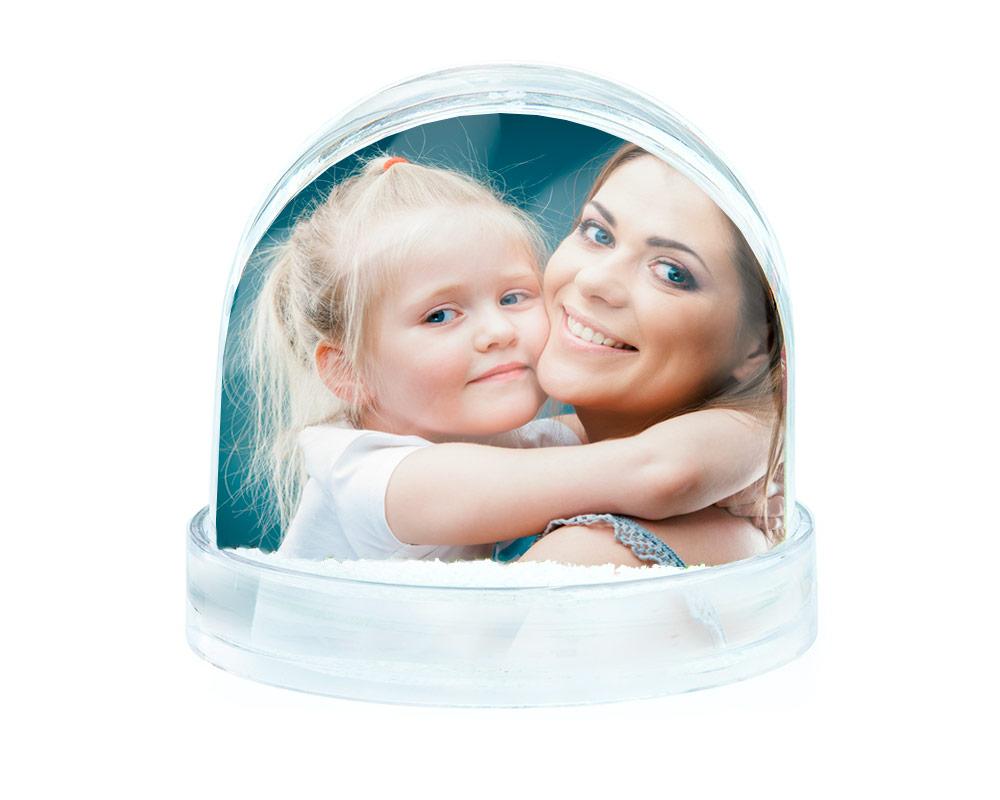 Bola de nieve personalizada con fotos regal prix - Bolas de cristal personalizadas ...