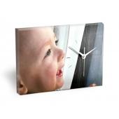 Foto Reloj personalizado Lienzo