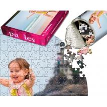 Puzzle personalizado redondo