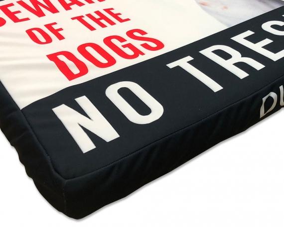 Cama para mascotas personalizada