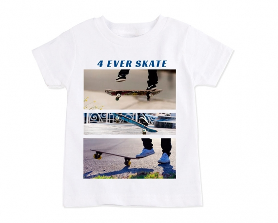 Camiseta personalizada poliester niño