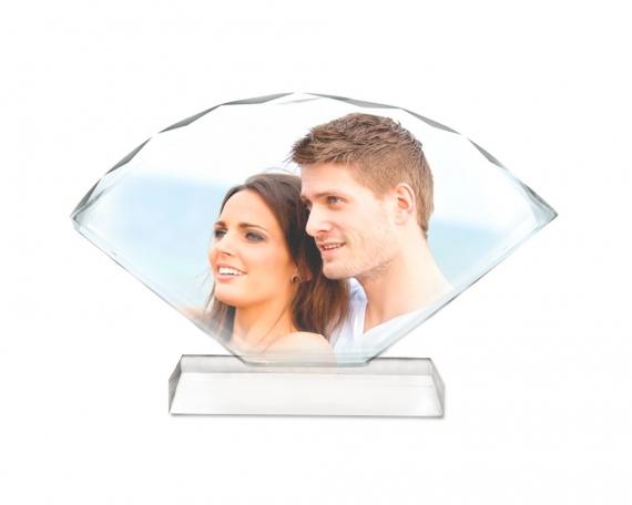 Cristal abanico personalizado