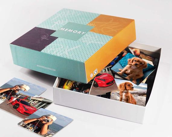 Juego Memory con fotos personalizadas